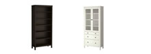 HEMNES bookcase and glass-door cabinets information