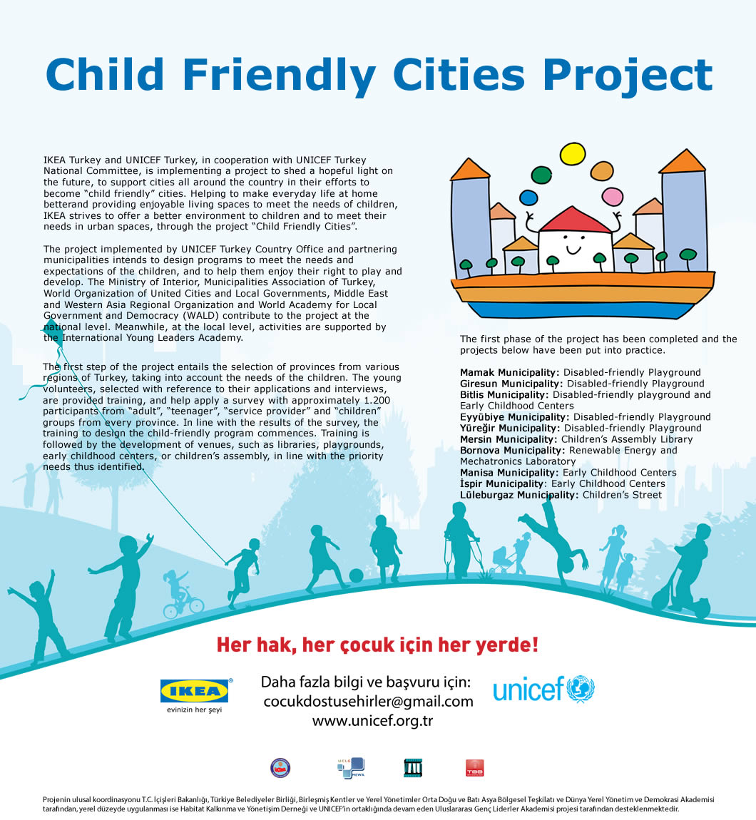 Child Friendly Cities Project