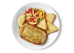 Ispanaklı Somon Böreği