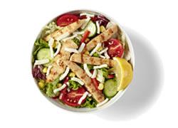 Izgara Tavuk Salata