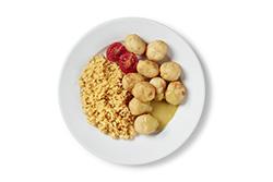 Tavuklu Peynirli Köfte