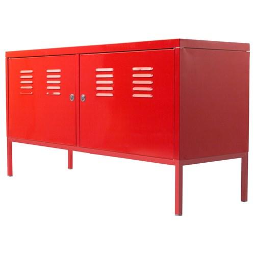 Ikea Ps Tv Sehpası Kırmızı 119x40x63 Cm Ikea Tv Dolap