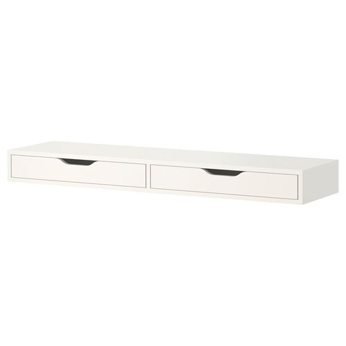 Ekby Alex Duvar Rafı Beyaz 119x29 Cm Ikea Antre Ve