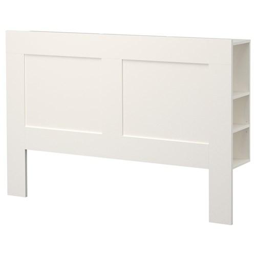 BRIMNES sand u0131kl u0131 yatak ba u015f u0131 beyaz 140 cm IKEA Yatak Odalar u0131