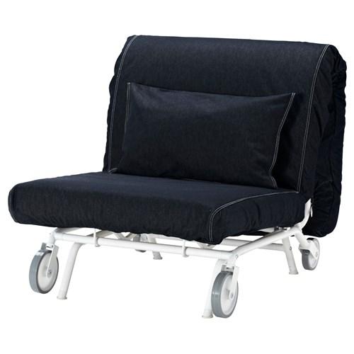 ikea ps l vas tekli yatakl koltuk vansta koyu mavi ikea oturma odalar. Black Bedroom Furniture Sets. Home Design Ideas