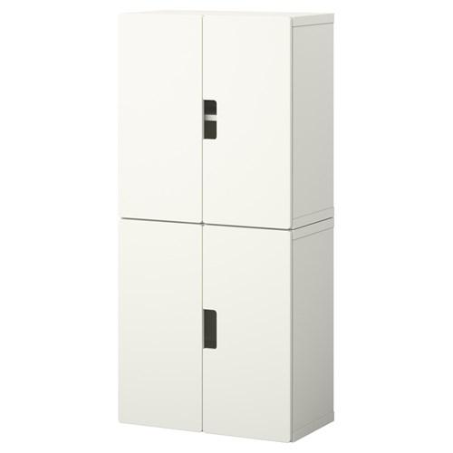 Stuva dolap kombinasyonu beyaz 60x30x128 cm ikea ikea ocuk for Furniture 30cm deep