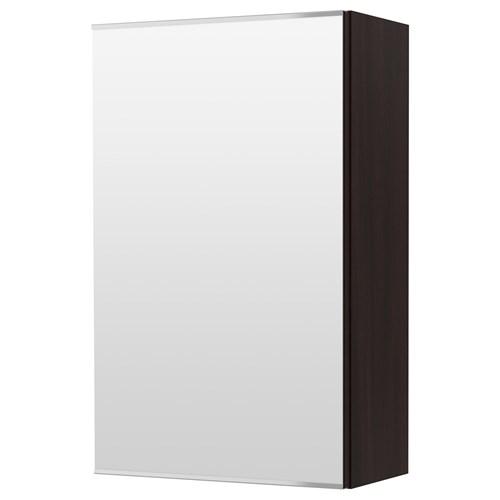 lillangen wall cabinet blackbrown 40x21x64 cm ikea bathroom. Black Bedroom Furniture Sets. Home Design Ideas