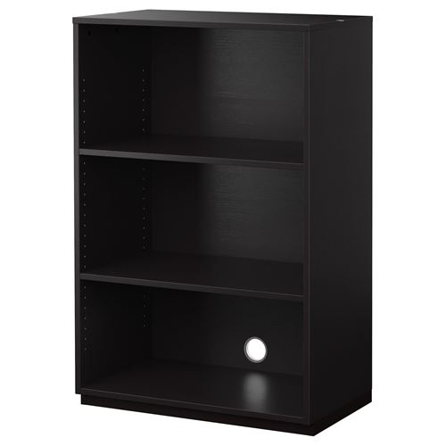 galant shelving unit blackbrown 80x120 cm ikea home office