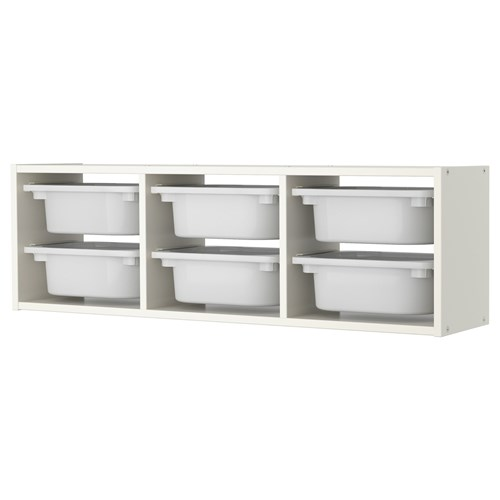 Trofast Wall Shelf White 99x21x30 Cm Ikea Children 39 S Ikea