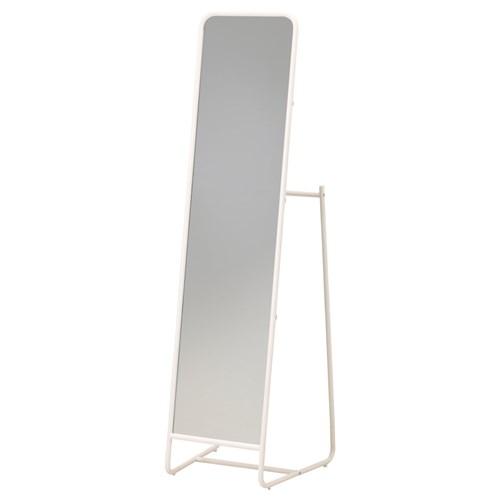 Knapper ayna beyaz 48x160 cm ikea ev dekorasyonu for Miroir en pied ikea