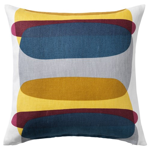 malin figur cushion cover multicolour 50x50 cm ikea home. Black Bedroom Furniture Sets. Home Design Ideas