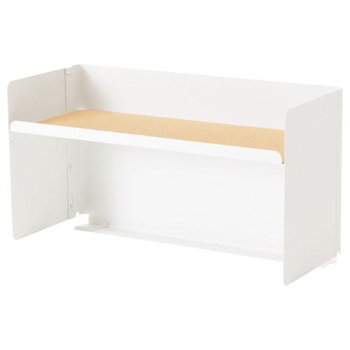 bekant desk top shelf white 60x32 cm ikea home office. Black Bedroom Furniture Sets. Home Design Ideas