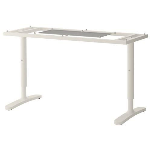 Bekant al ma masas tablas iskeleti beyaz 140x60 cm for Bureau 140x60