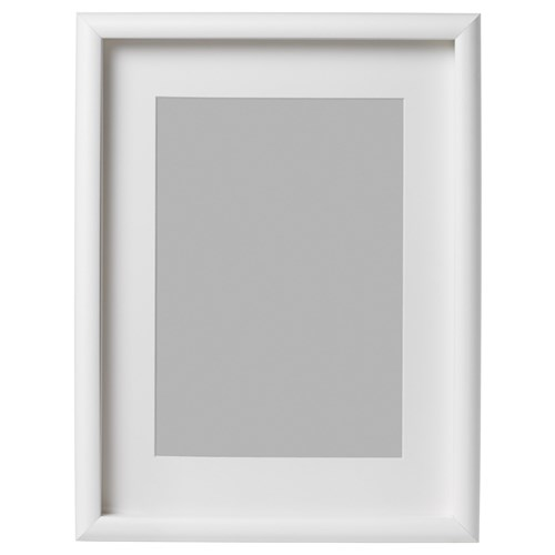 mossebo photo frame white 30x40 cm ikea home decoration. Black Bedroom Furniture Sets. Home Design Ideas