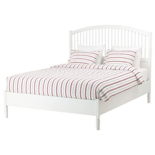 tyssedal lur y ift ki ilik karyola beyaz 160x200 cm ikea yatak odalar. Black Bedroom Furniture Sets. Home Design Ideas