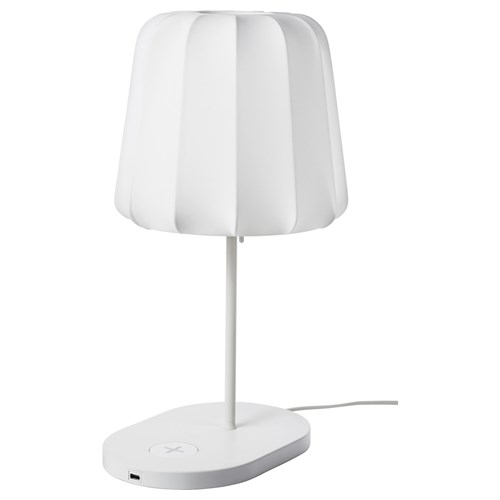 Varv Table Lamp With Wireless Charging Ikea Lighting
