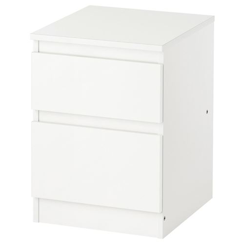 Kullen 2 ekmeceli ifonyer beyaz 35x49 cm ikea yatak - Ikea mesita de noche ...