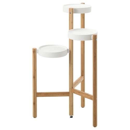 Satsumas i eklik bambu beyaz 78 cm ikea ev dekorasyonu for Ikea maceteros exterior