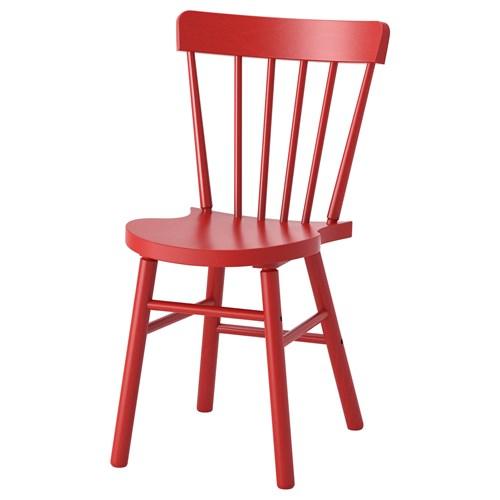 pinnstol ikea ~ norraryd sandalye kırmızı  ikea yemek odaları
