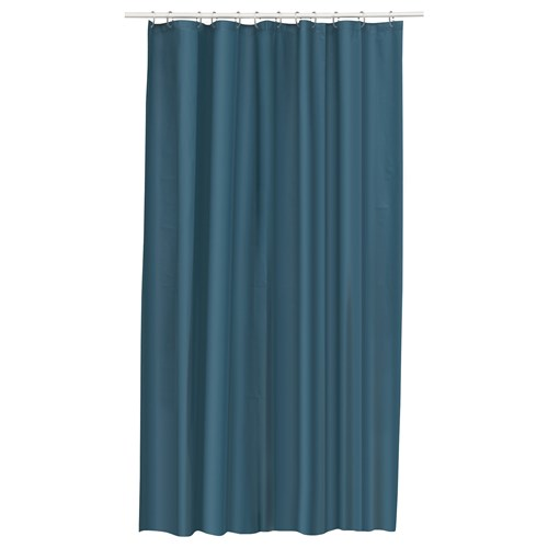 eggegrund shower curtain green blue 180x200 cm ikea bathroom. Black Bedroom Furniture Sets. Home Design Ideas