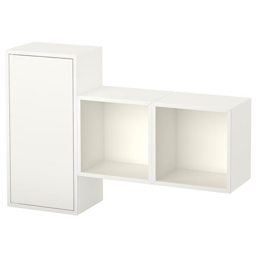 Eket Wall Mounted Cabinet Combination White 105x25x70 Cm