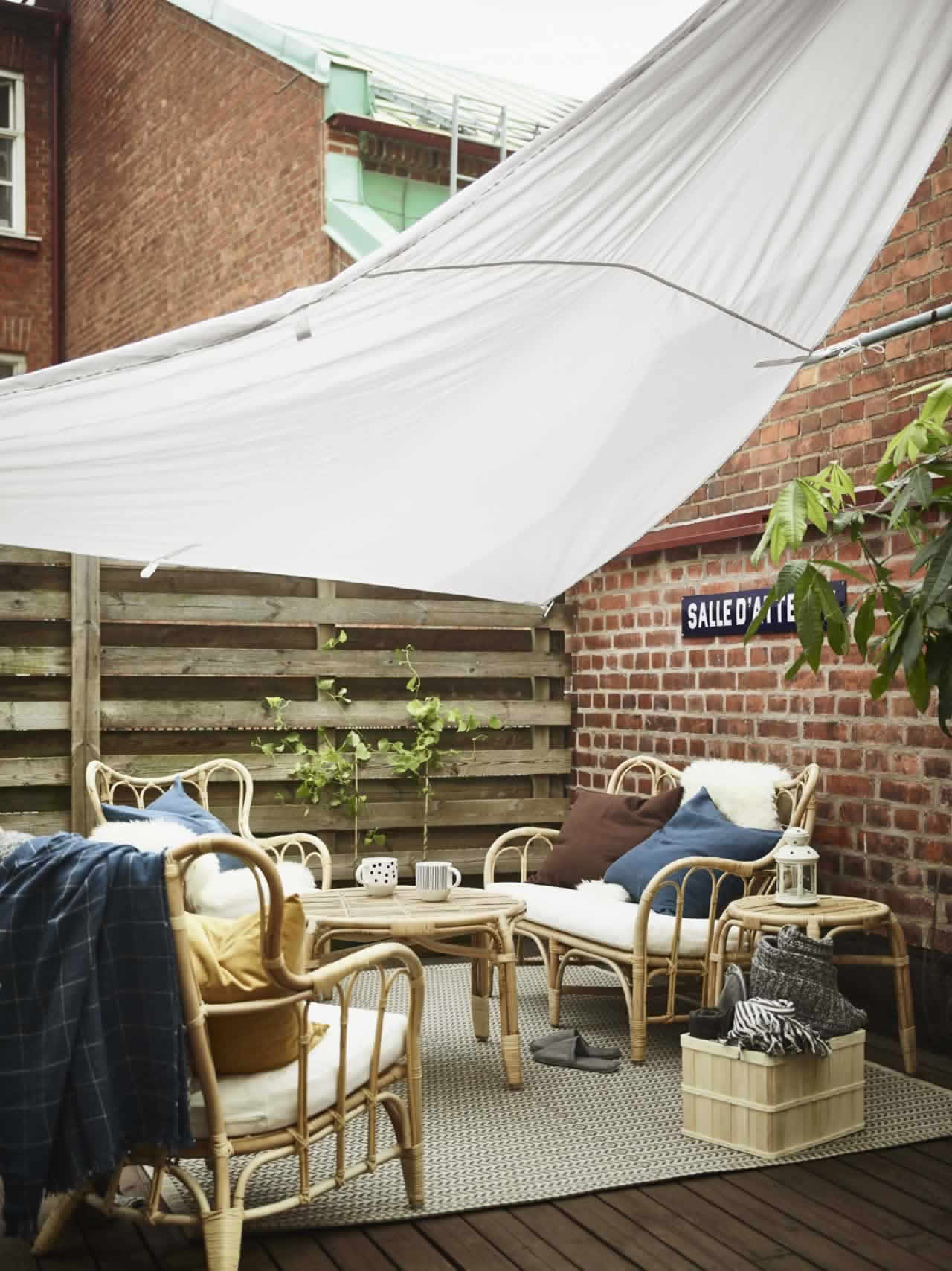 IKEA Ideas - Extend summer on your balcony