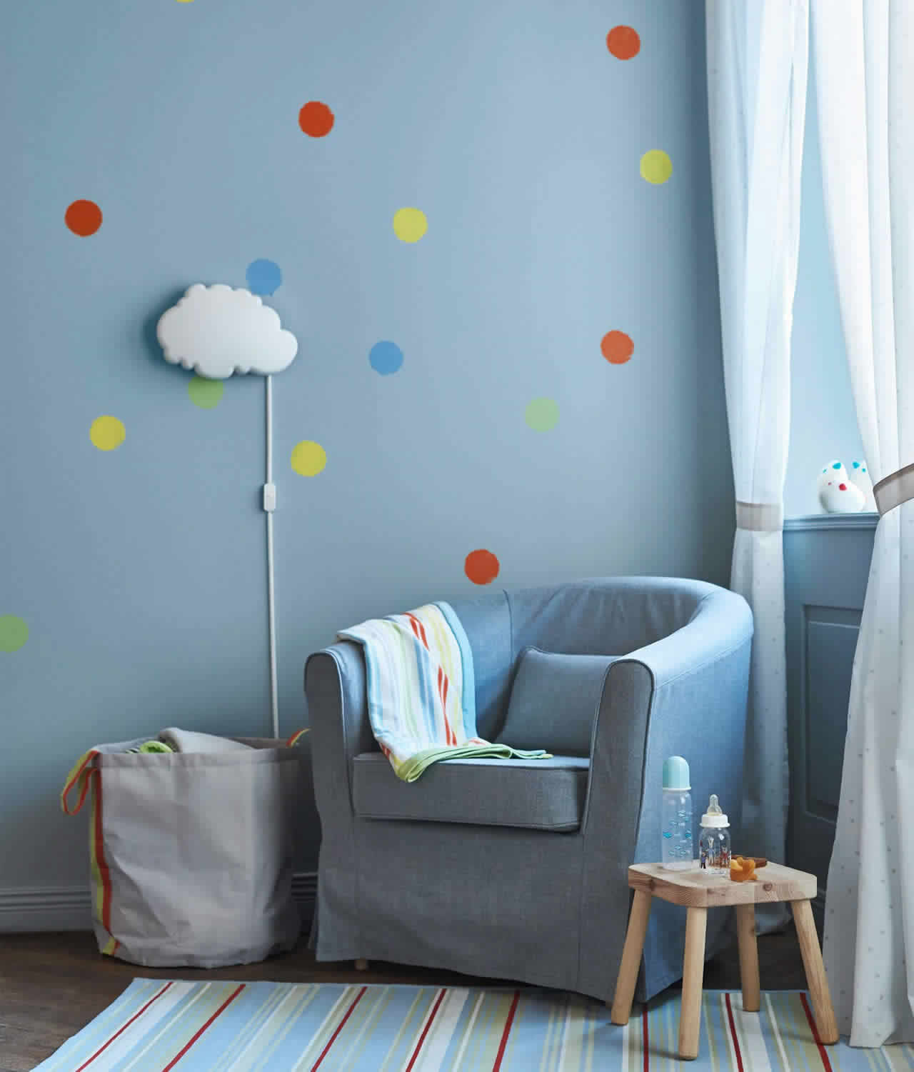 IKEA Ideas - A baby room made for growing up