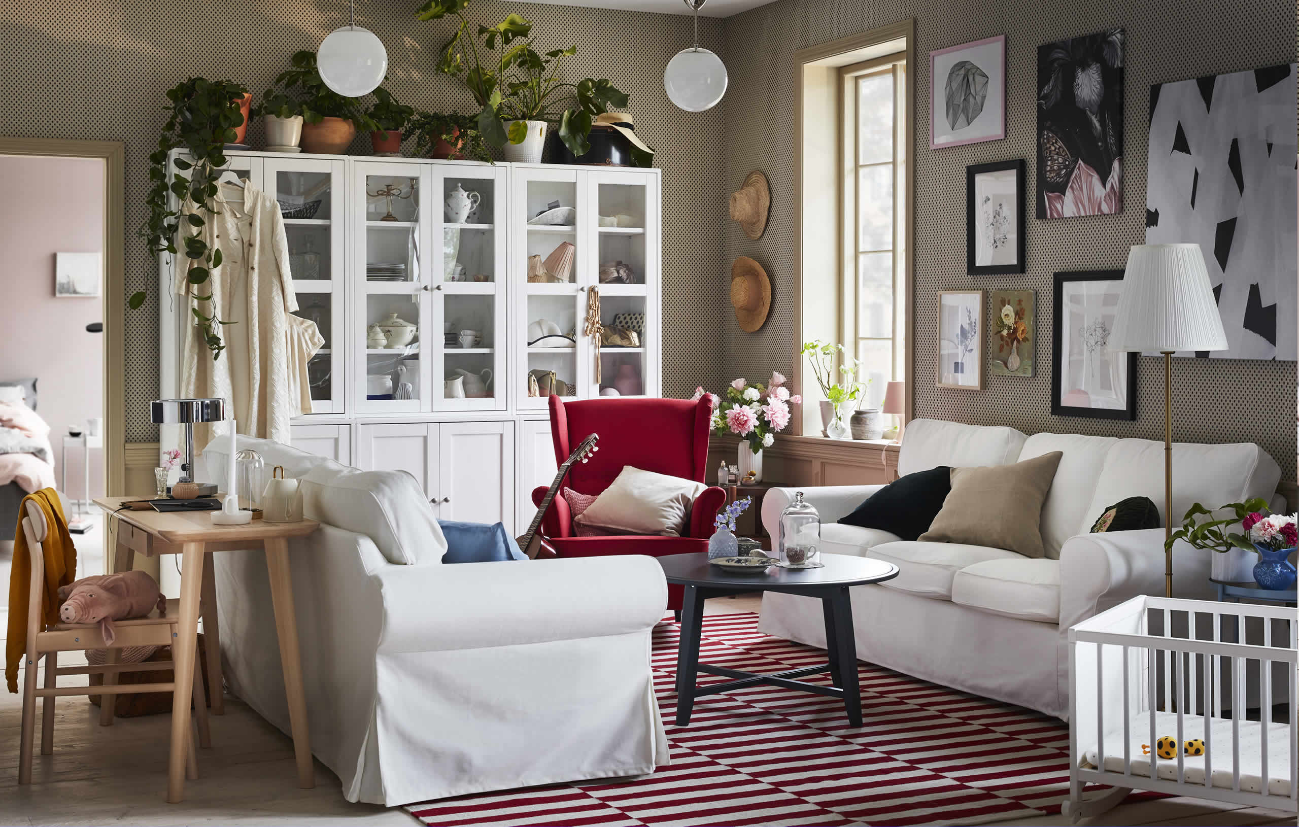 IKEA Ideas - A living room that's unquestionably you