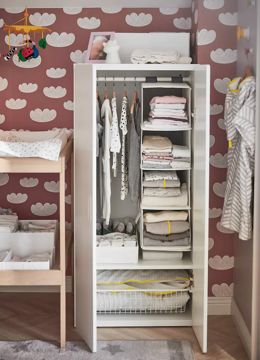 IKEA Ideas - A nursery with plenty of storage for our special ones