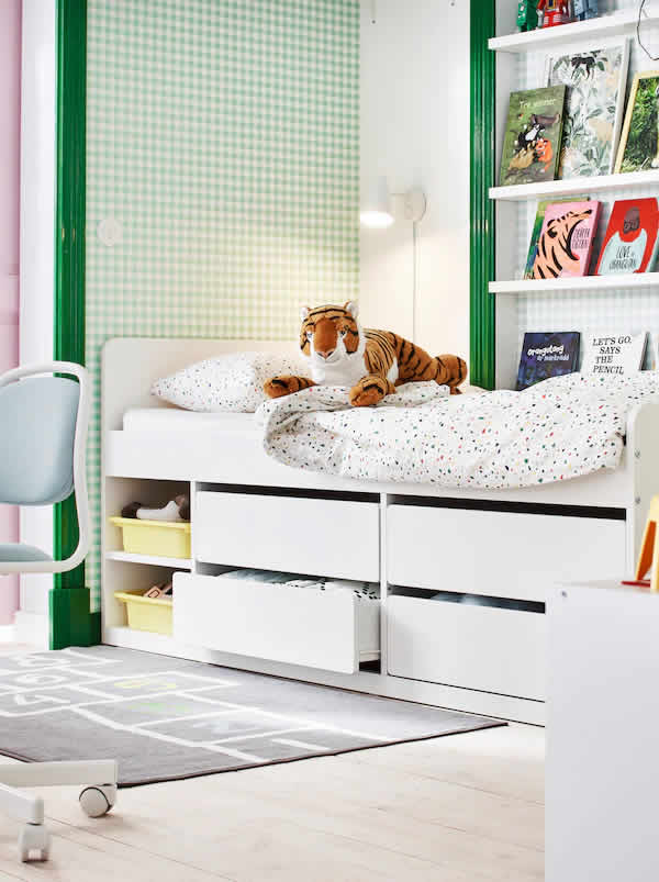 IKEA Ideas - A room shared is fun doubled