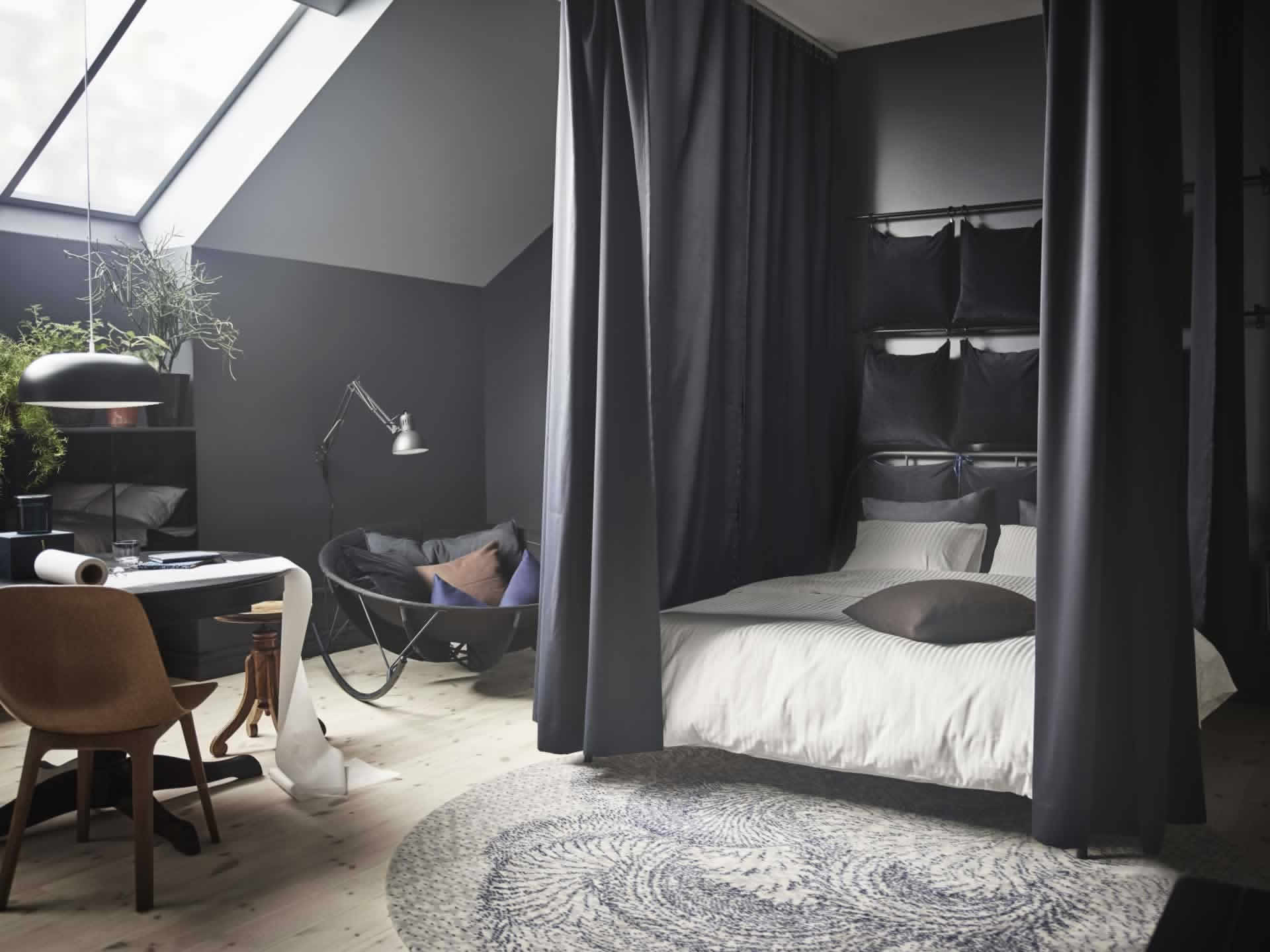 IKEA Ideas - A stay-all-day bedroom sanctuary
