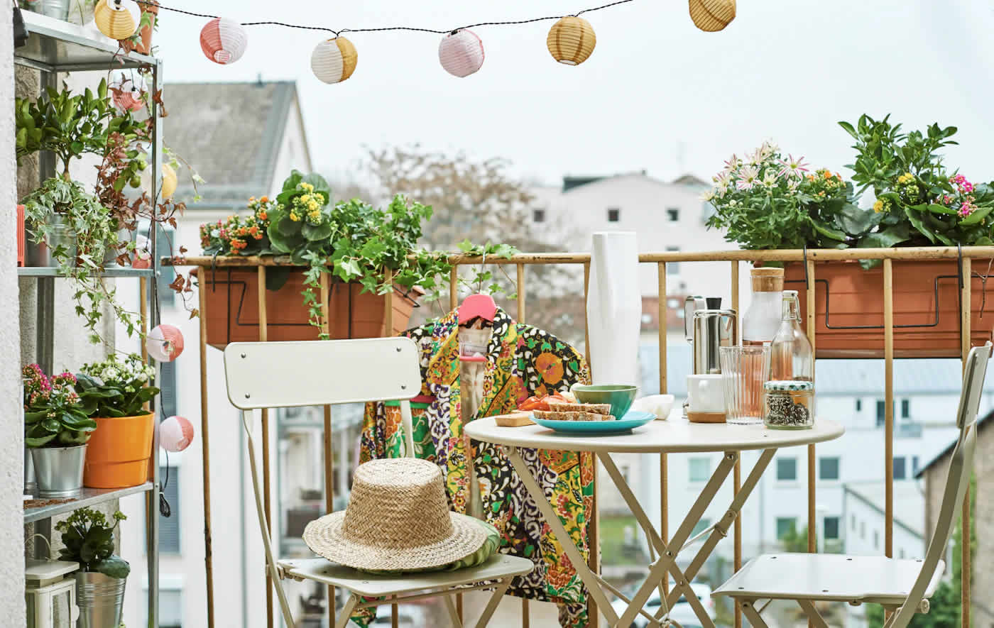 IKEA Ideas - Home visit: a balcony to escape the daily grind