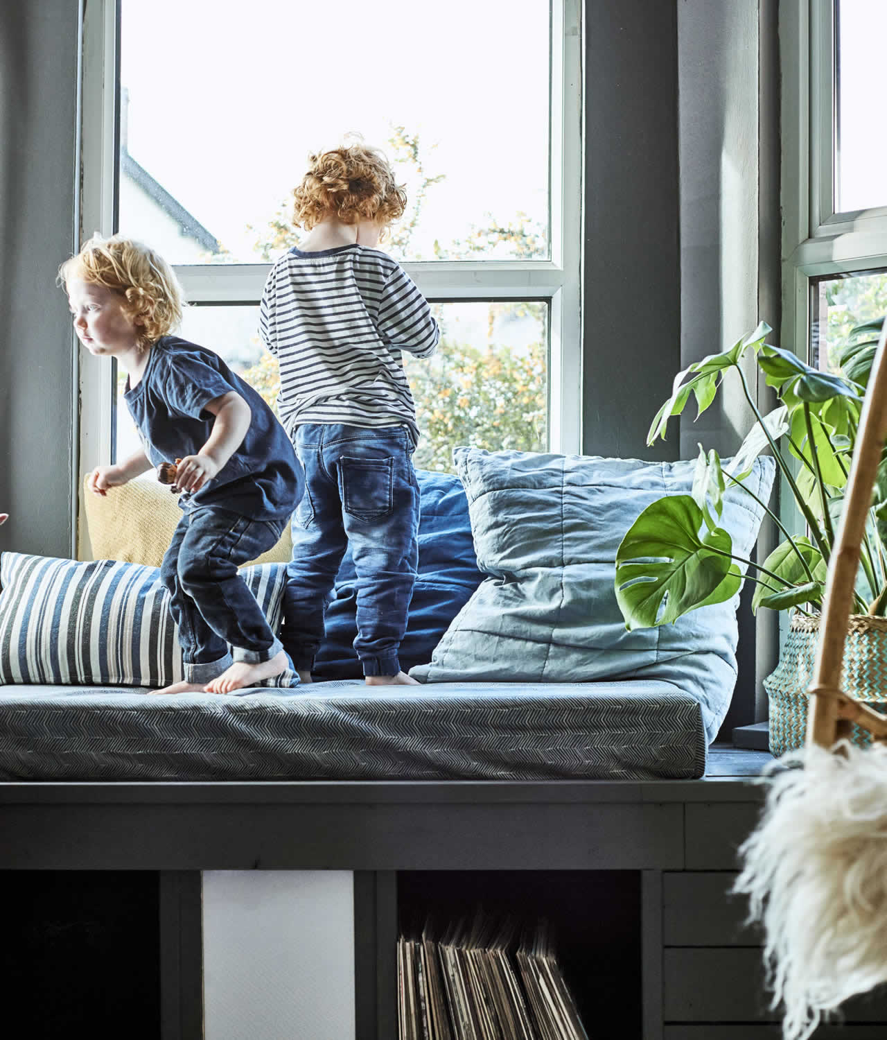 IKEA - Ideas - Home visit: How to design a happy home