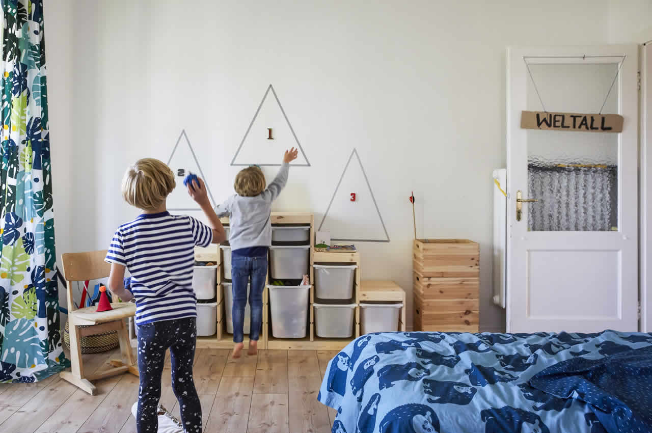 IKEA Ideas - Home visit: tips for a playful kids' room makeover