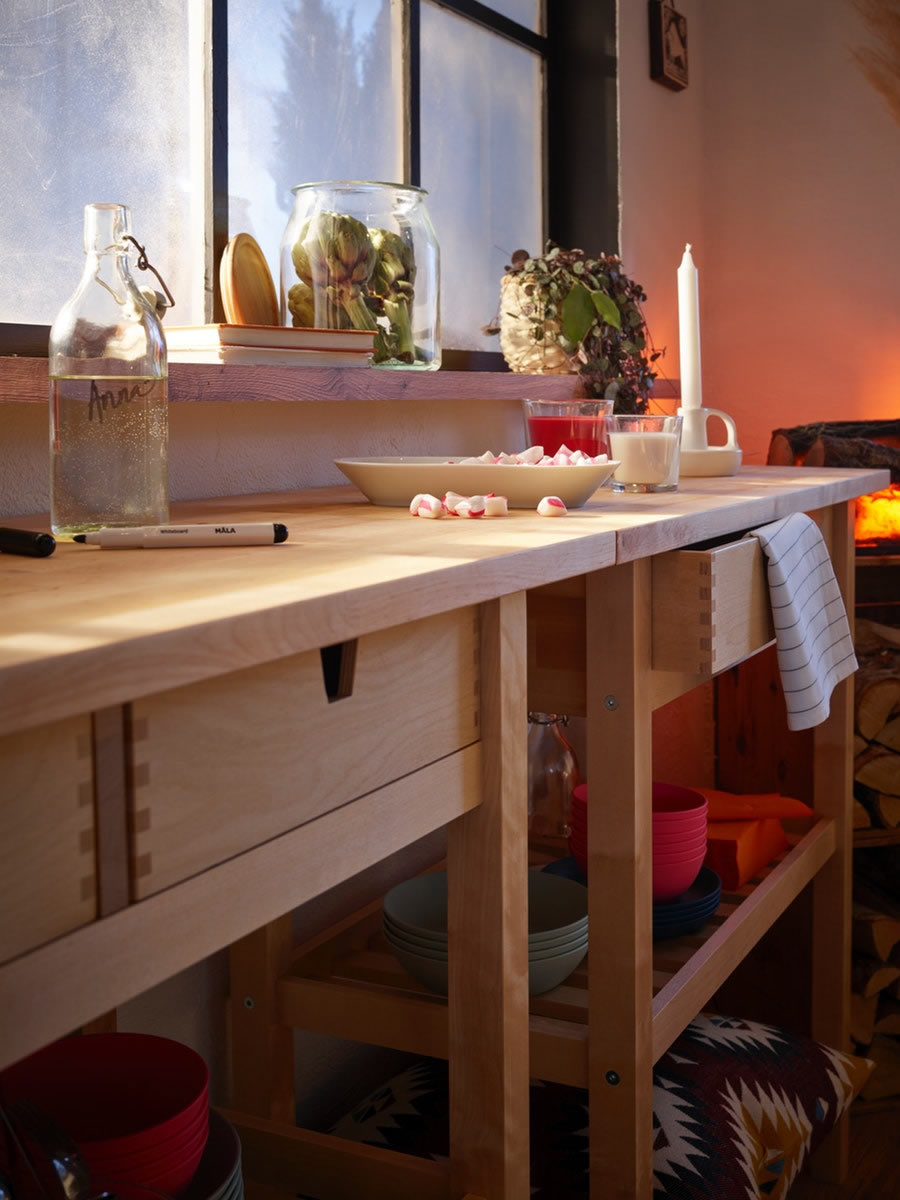 IKEA Ideas - Host a feast for overnight guests.