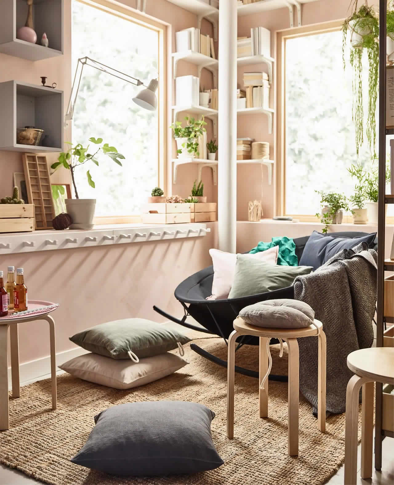 IKEA Ideas- How to get a stress-free living room