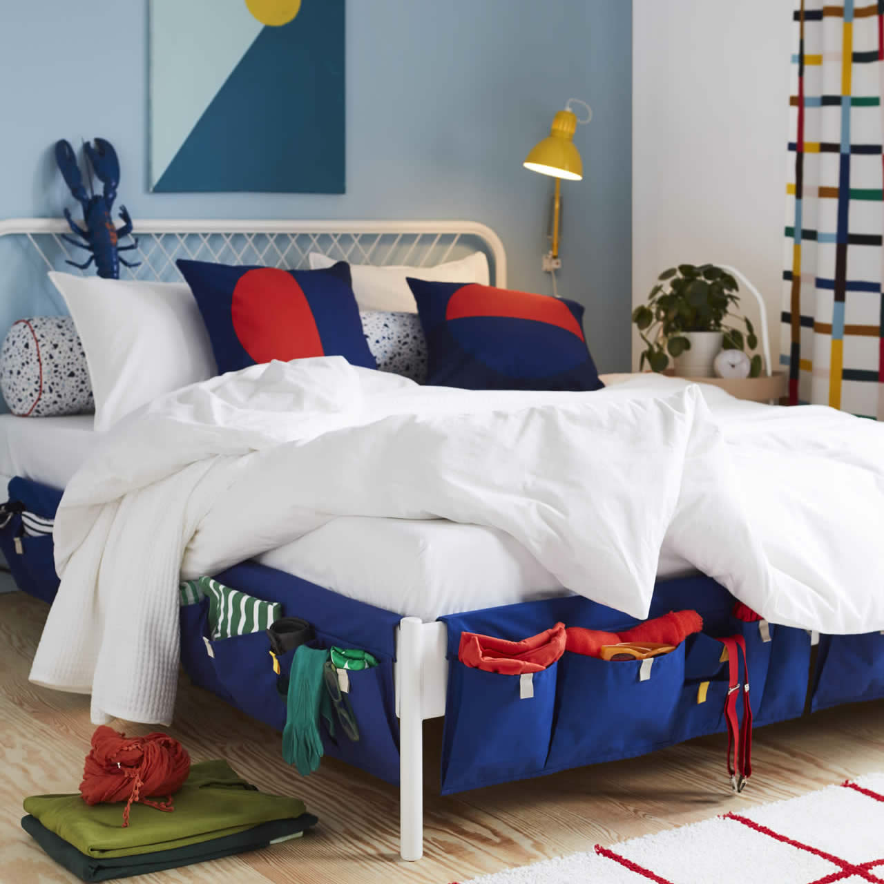 IKEA Ideas - Innovative bedroom storage - and how to hide it