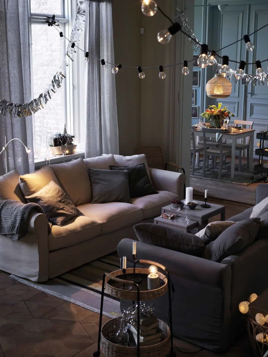 IKEA - Ideas - Keep the festivities going all winter