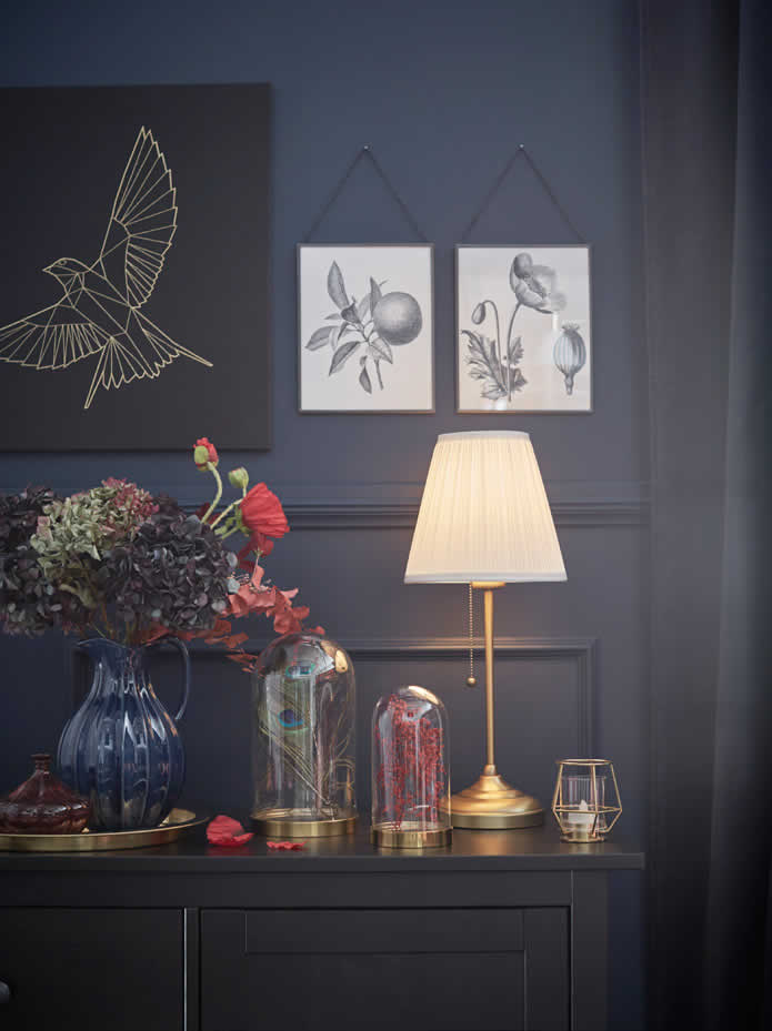 IKEA - Ideas - Putting the spotlight on accessories