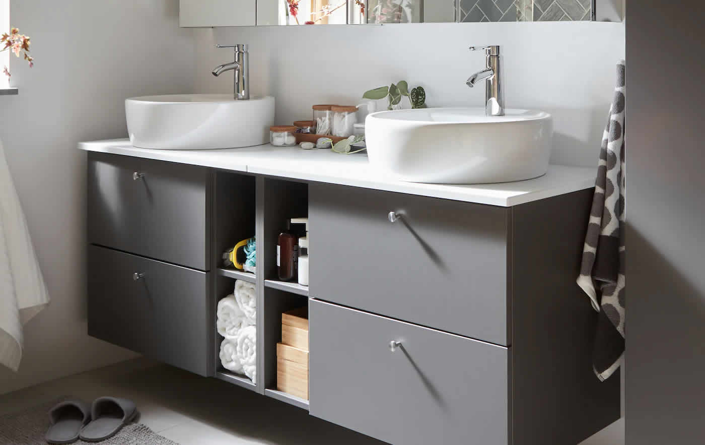 IKEA Ideas - Simple ideas that make your bathroom grow