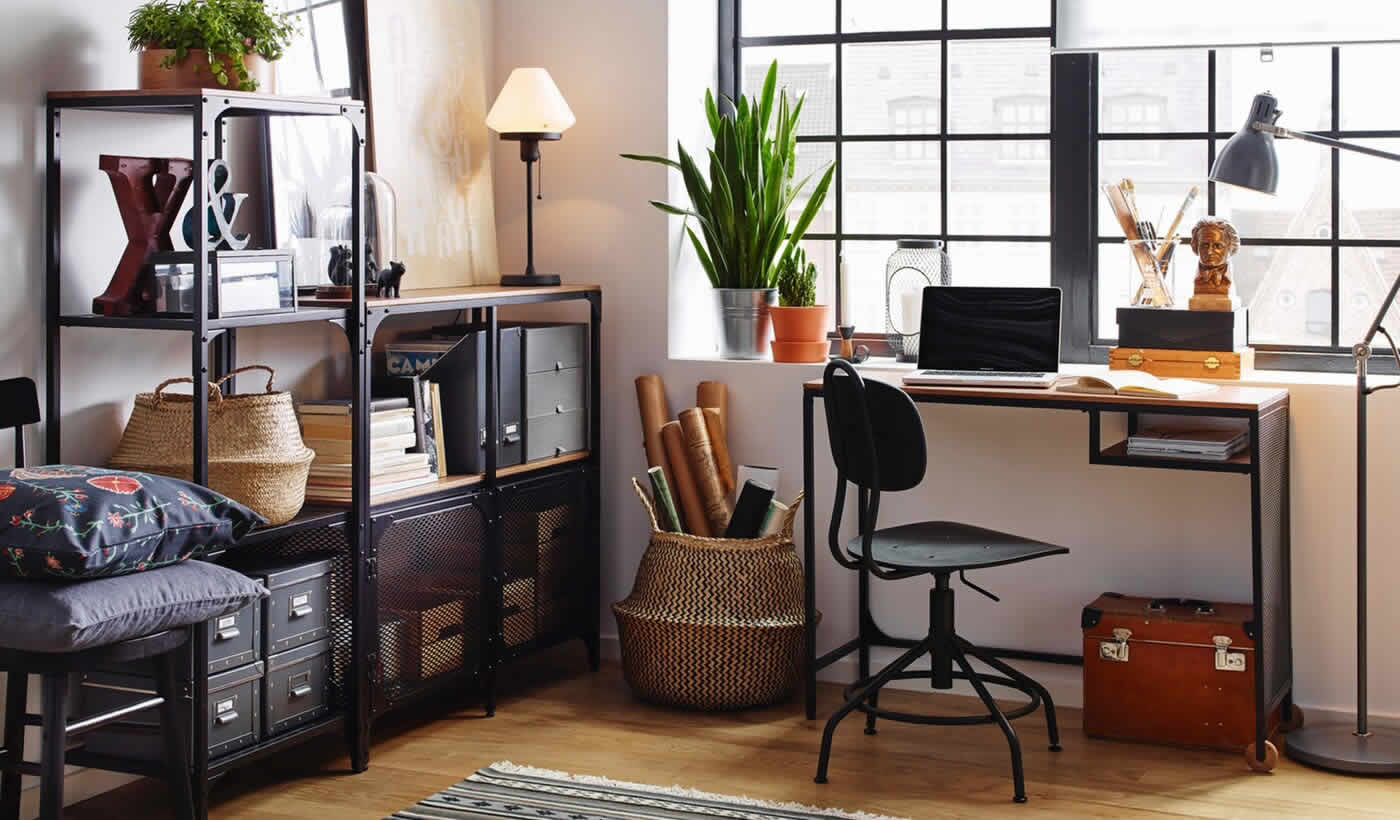 IKEA Ideas - The home office, a place for more than just homework.