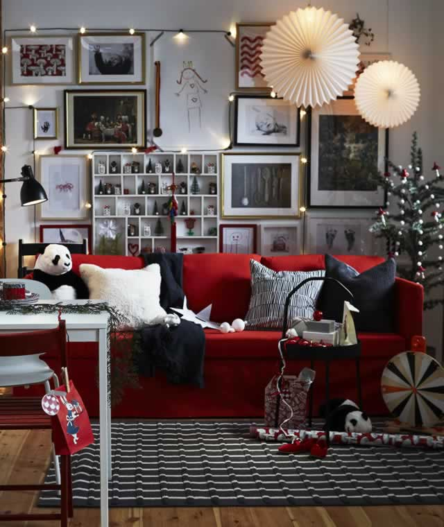 IKEA Ideas - Three living rooms that say Welcome!