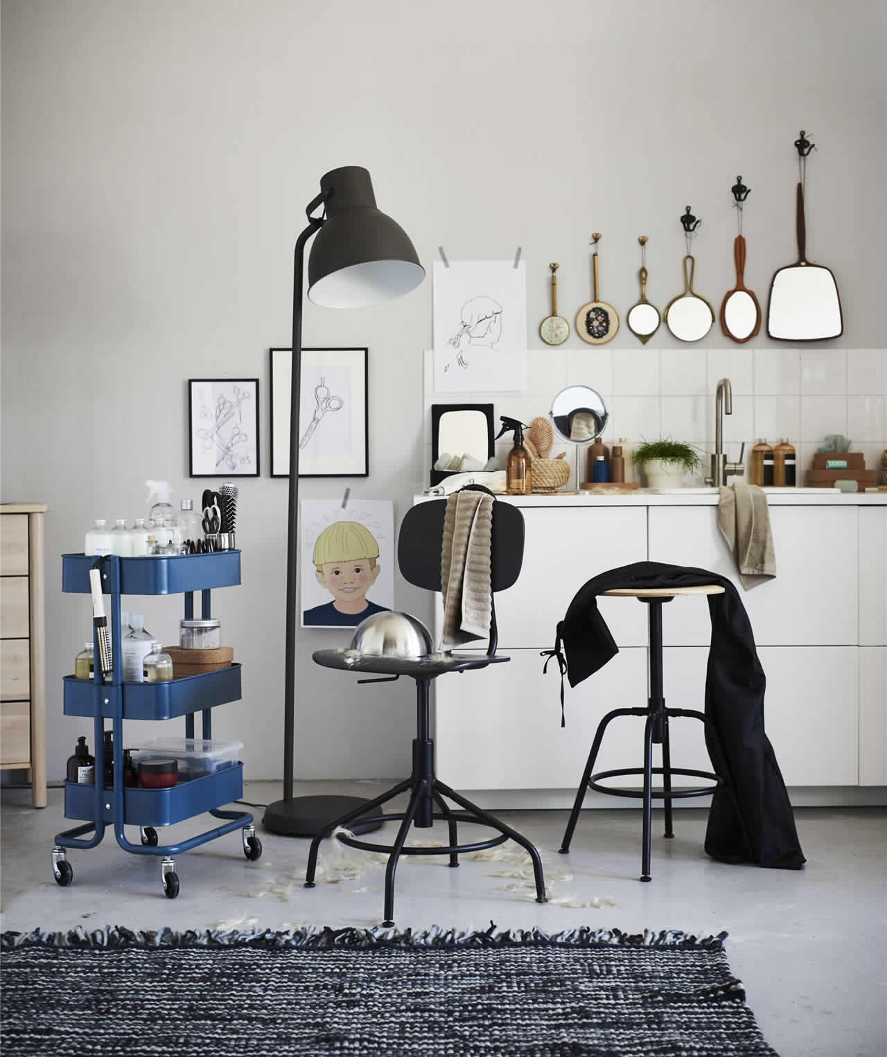 IKEA Ideas - Turn an extra office chair into something extraordinary