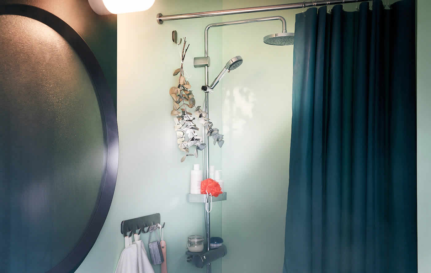 IKEA Ideas - Your bathroom shower – a stand-up spa