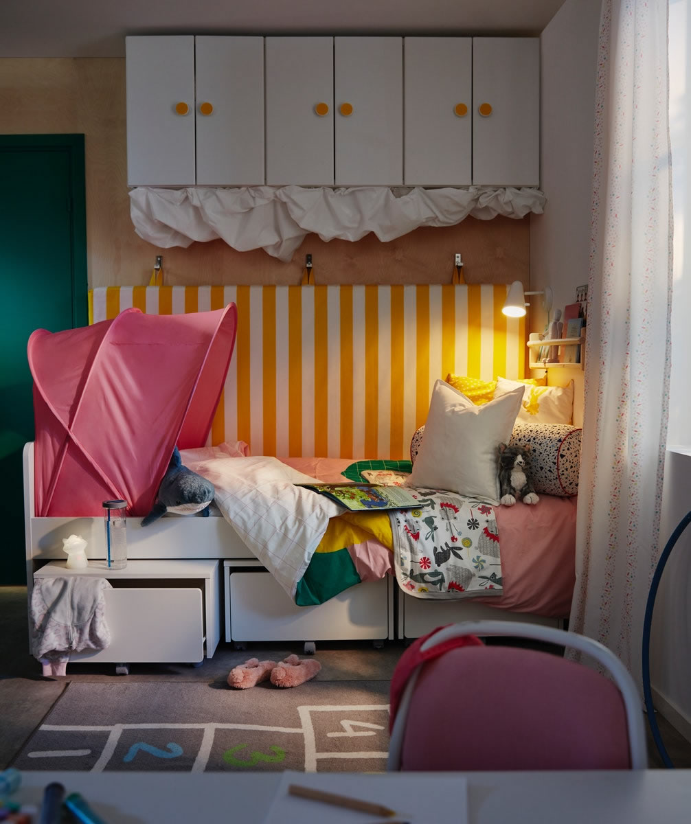 IKEA Ideas - A good night's sleep with children in the family