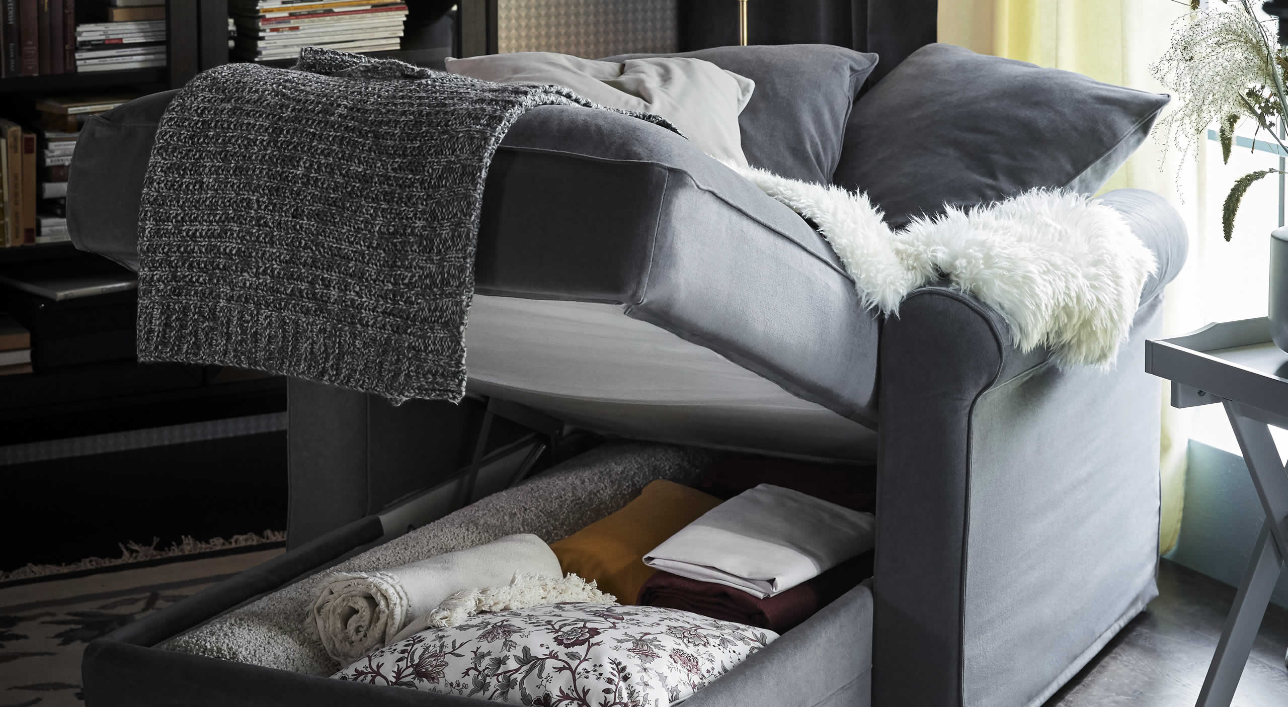 IKEA İyi Fikirler - A reusable living room update with textiles