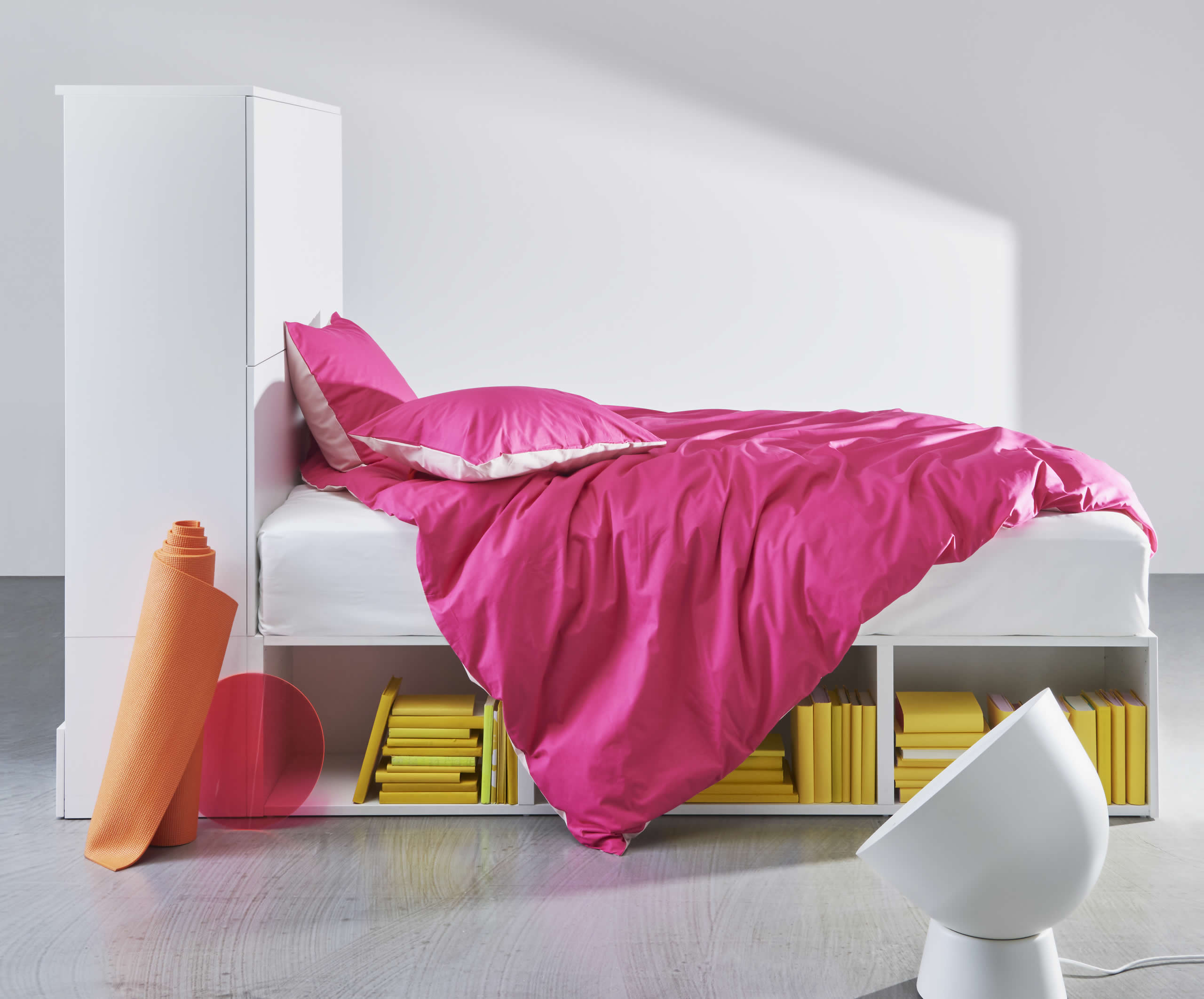 IKEA Ideas - Bright new bedroom ideas