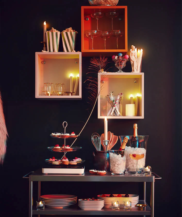 IKEA Ideas - Celebrate New Year's Eve in style