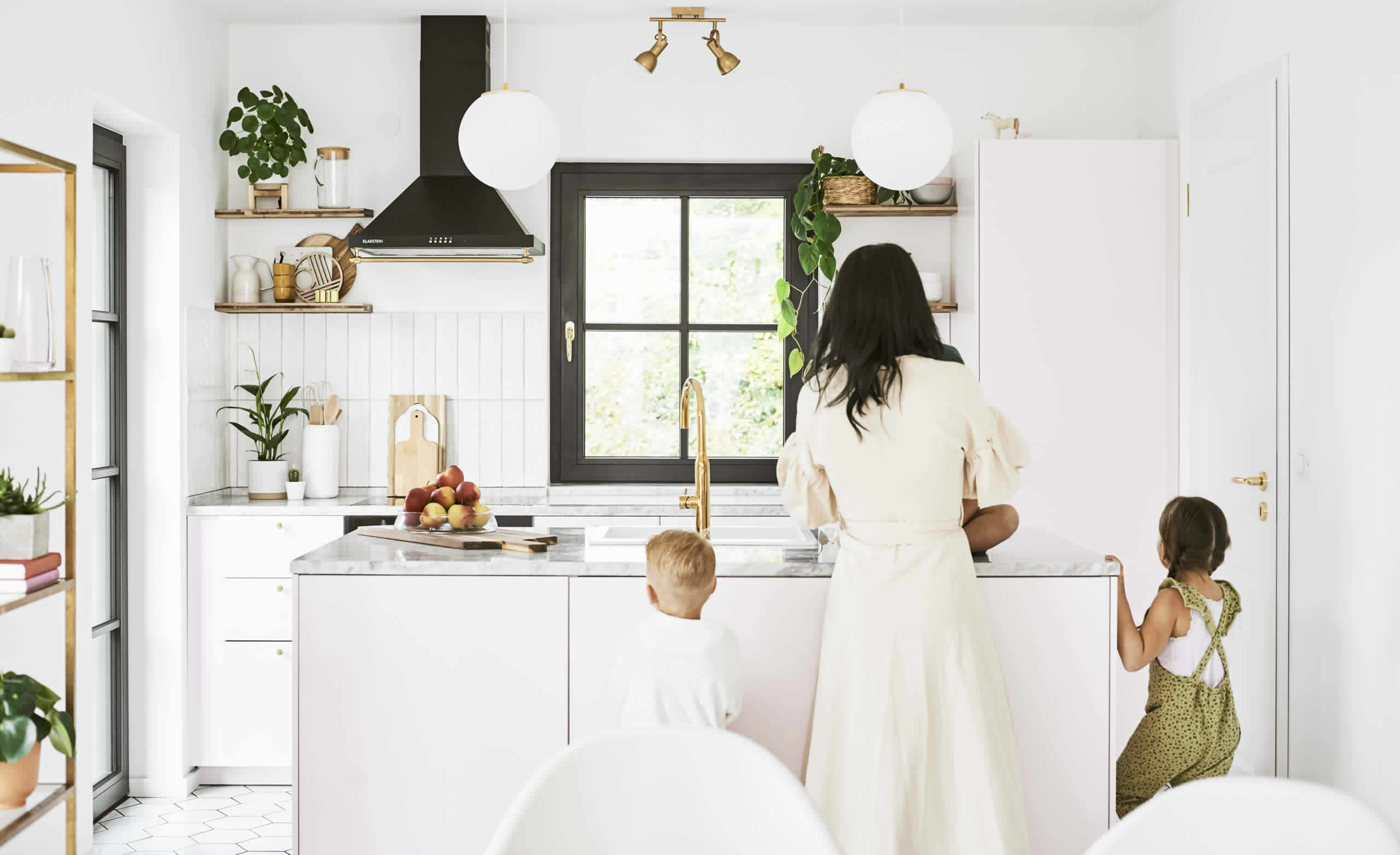 IKEA Ideas - Modern minimalism in a family home