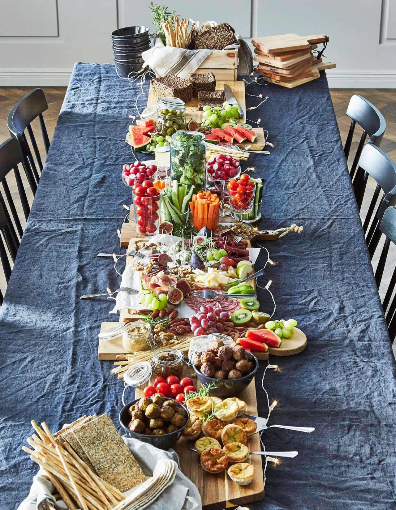 IKEA Ideas - A no-cook dinner party